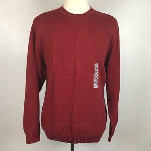 NWT Men's Geoffrey Beene Crewneck Sweater